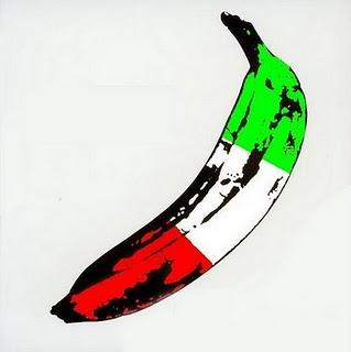 Autentica banana italiana, frutto nostrano.